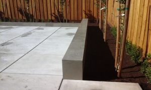 Tovar Landscape Co. - Concrete and Garden Bed