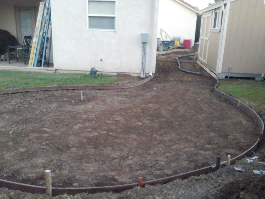 Tovar Landscape Co. - Concrete Prep